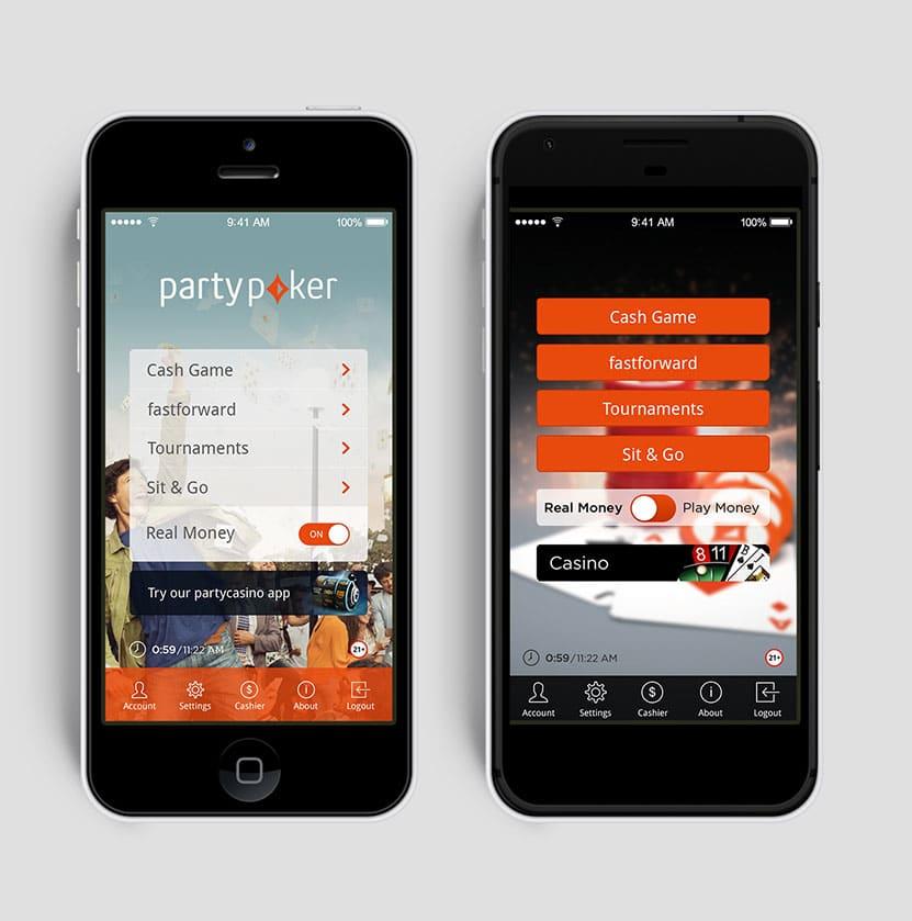 Парти покер на андроид и айфон