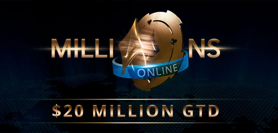 Пати Покер разыгрывает 20 миллионов долларов в серии MILLIONS Online