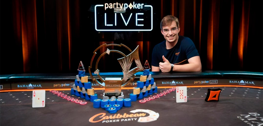 Carribean poker победитель - Филлипе Оливейра