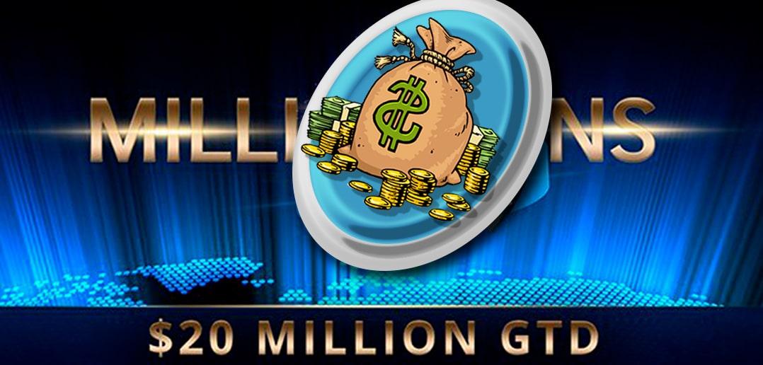 Partypoker собрали $20 000 000