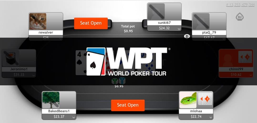 Старт онлайн-турниров в рамках новой WPT на partypoker