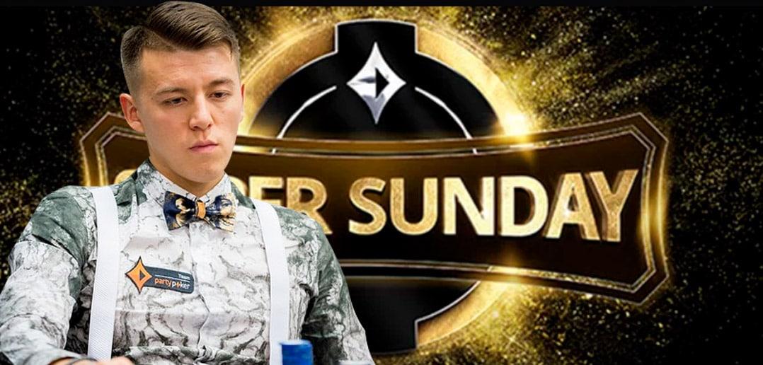 Анатолий Филатов финишировал вторым в Super Sunday на partypoker