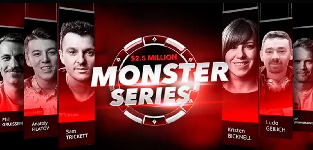 Monster Series начнется на PartyPoker 10 марта