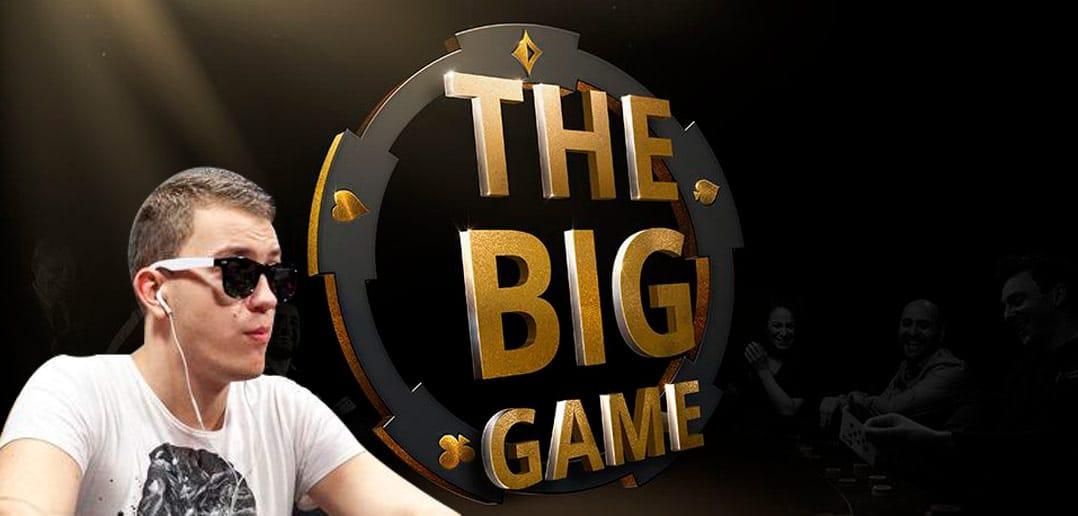 Романовский стал третьим на Big Game с результатом 105,5 тысяч долларов