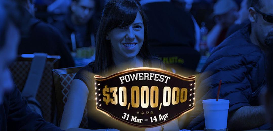 Финальные столы Powerfest Кристен Бикнелл