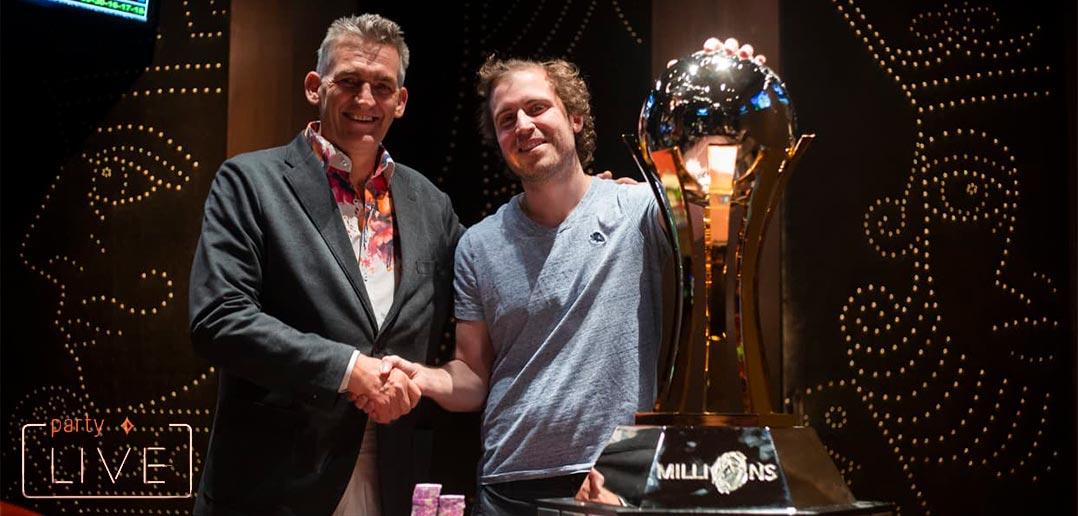 Первый турнир первого partypoker MILLIONS в США выиграл Том Марчезе