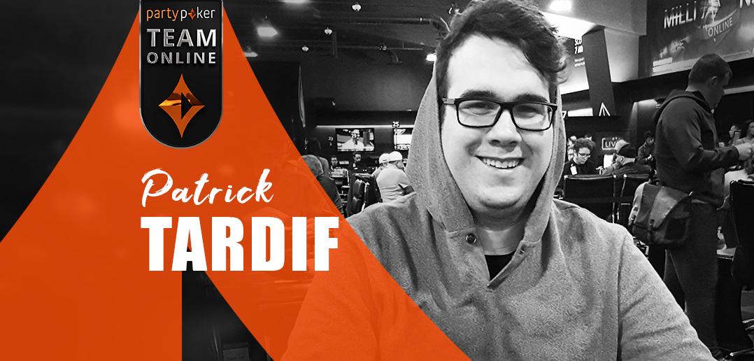 Патрик Тардиф вышел в финальные столы