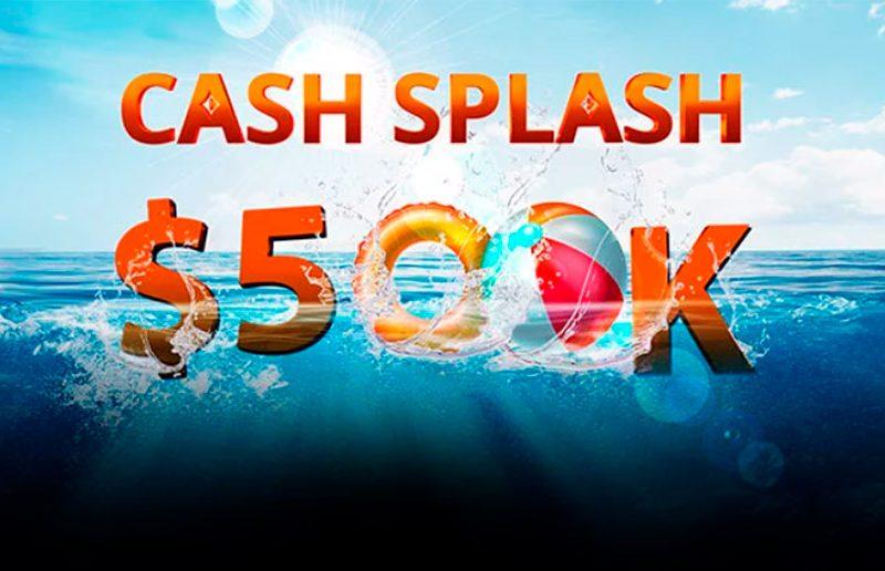Полмиллиона долларов от partypoker за участие в акции Cash Splash