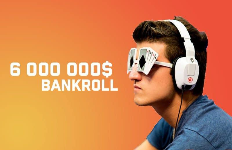 Урбанович победил в серии нокаутов на partypoker и довел банкролл до $6M