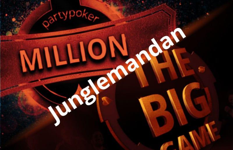 Воскресный брифинг на partypoker: две крупные победы Junglemandan