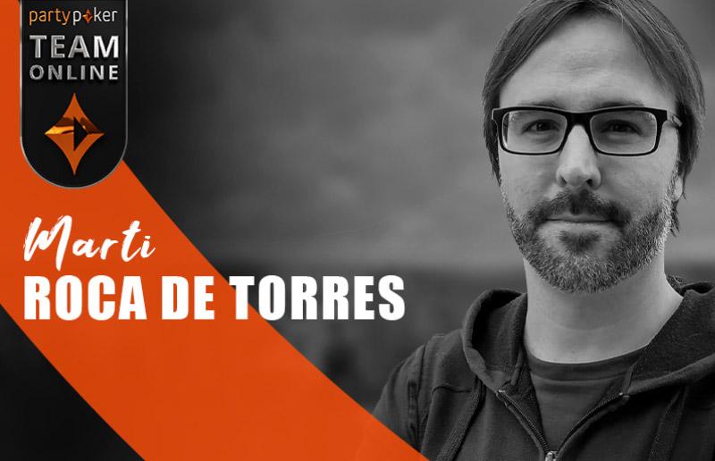 Рум partypoker объявил о добавлении Марти «MartiRoca» Рока де Торрес в свою онлайн-команду