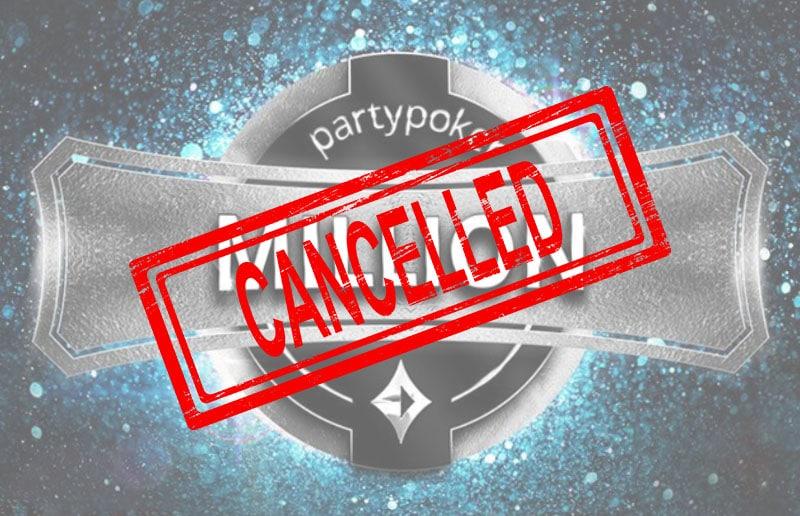 Первый турнир MILLION в руме partypoker так и не начался
