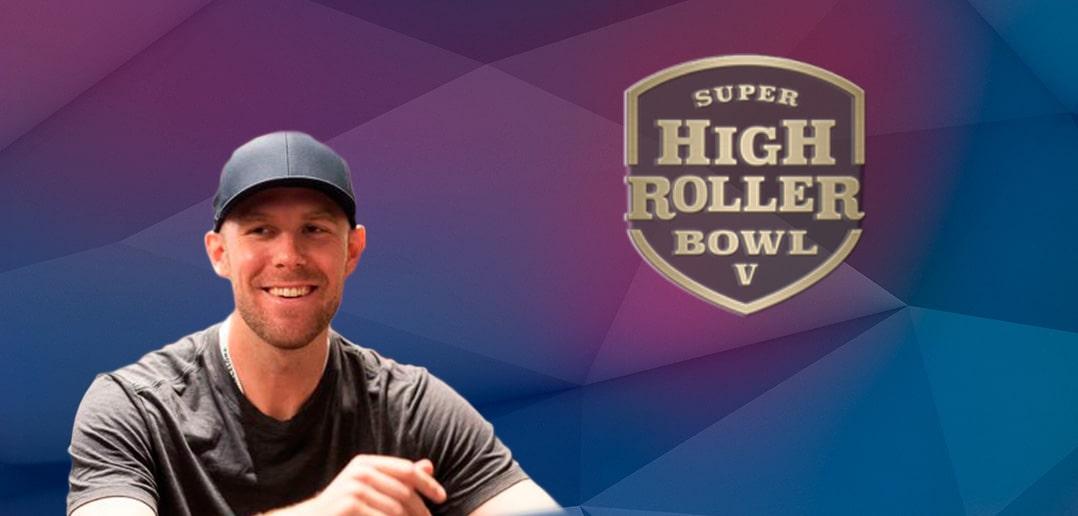 Сет Дэвис стал лидером по фишкам в финале Super High Roller Bowl 2019