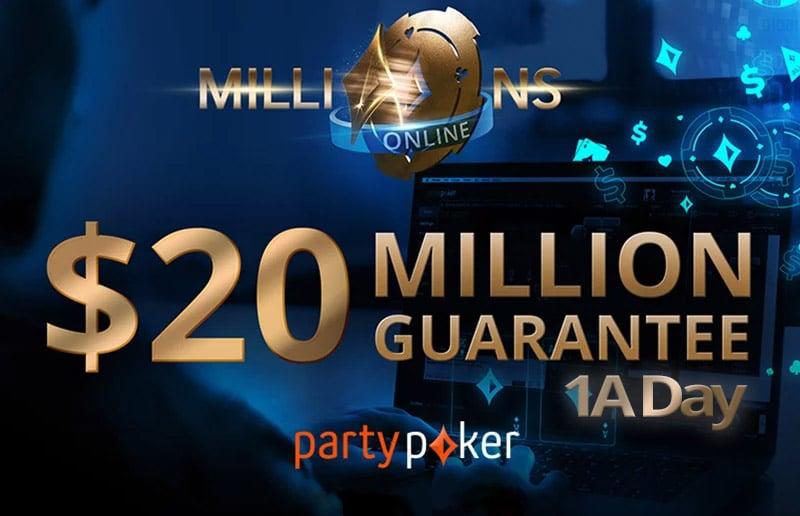 Результаты 1A дня Millions Online