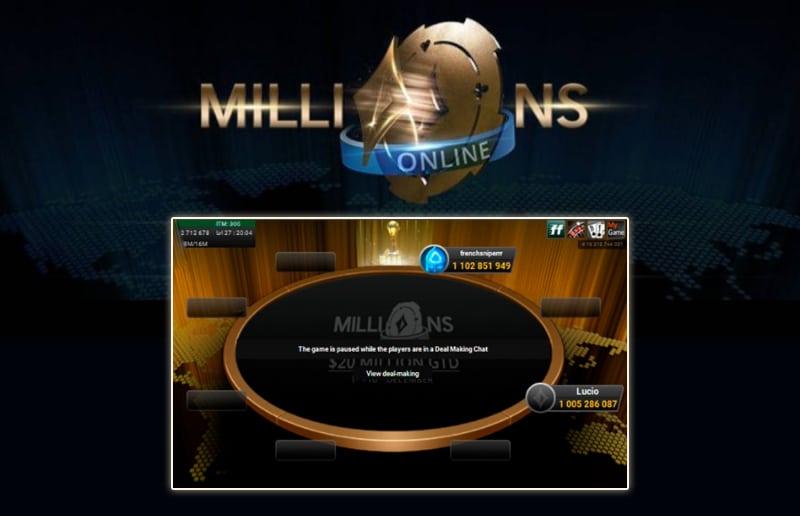 Серия Millions Online закончилась сделкой