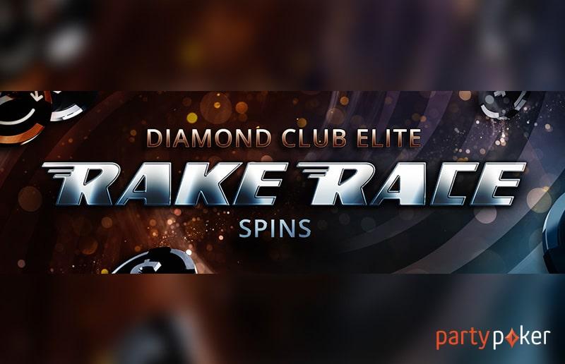 На partypoker начинается Diamond Club Elite Rake Race