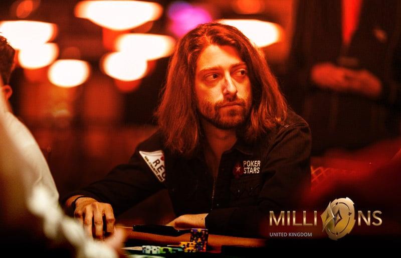 Игорь Курганов имеет самый большой стек в турнире хайроллеров MILLIONS UK