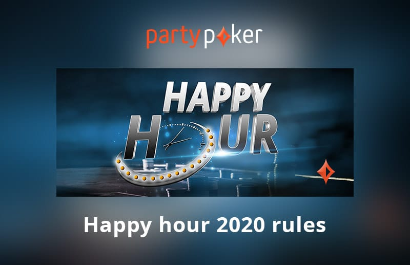 Акция Happy Hour на partypoker: удвойте свою награду!