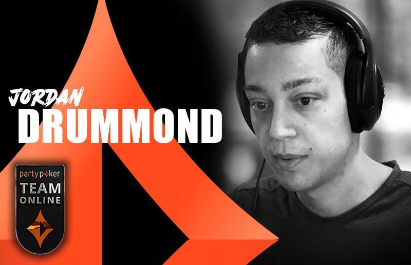Джордан Драммонд стал новым стримером в команде partypoker Team Online