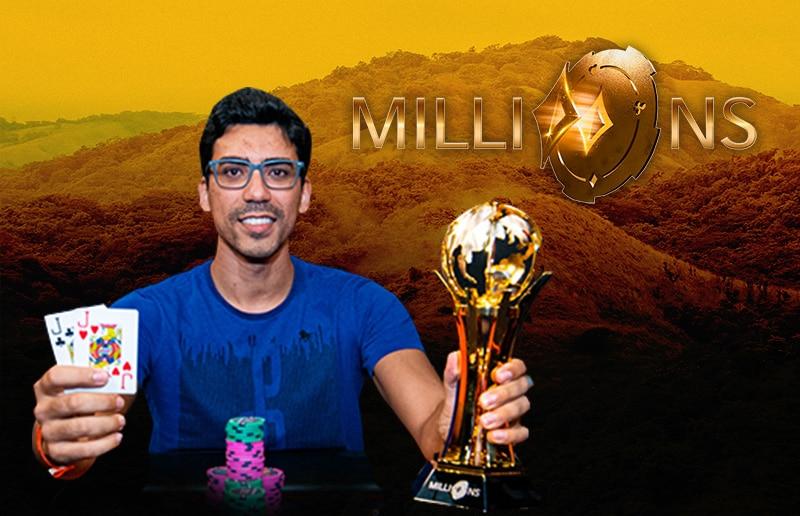 Педро Сильва — чемпион Millions South America