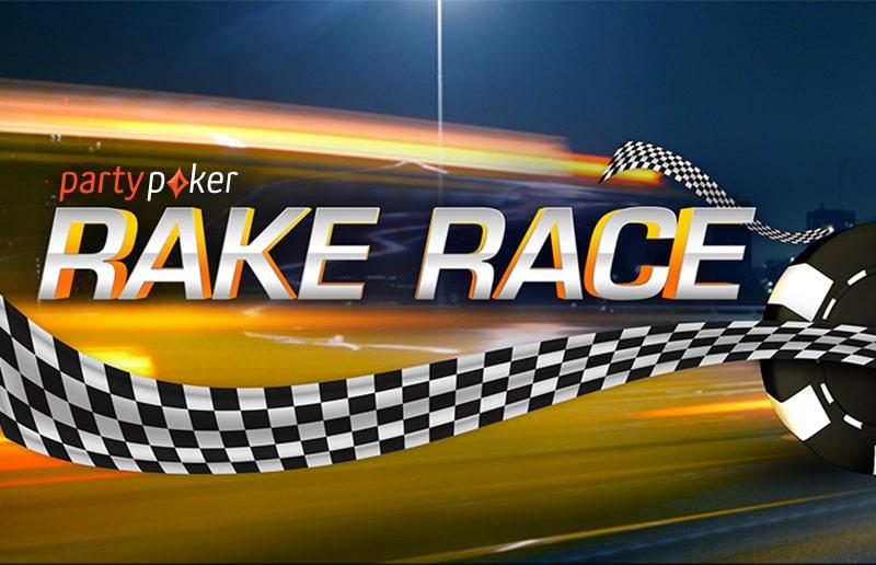 На partypoker стартует новая рейк-гонка
