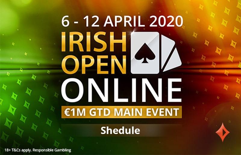 Расписание Irish open Online
