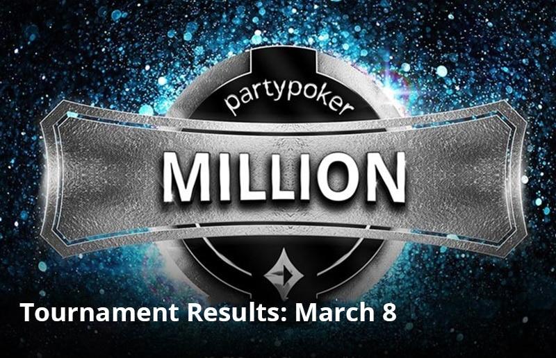 partypoker MILLION – игрок attitydsproblem заработал $153 350