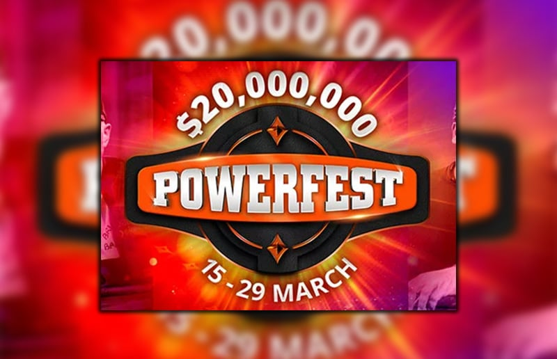 Началась серия Powerfest на partypoker