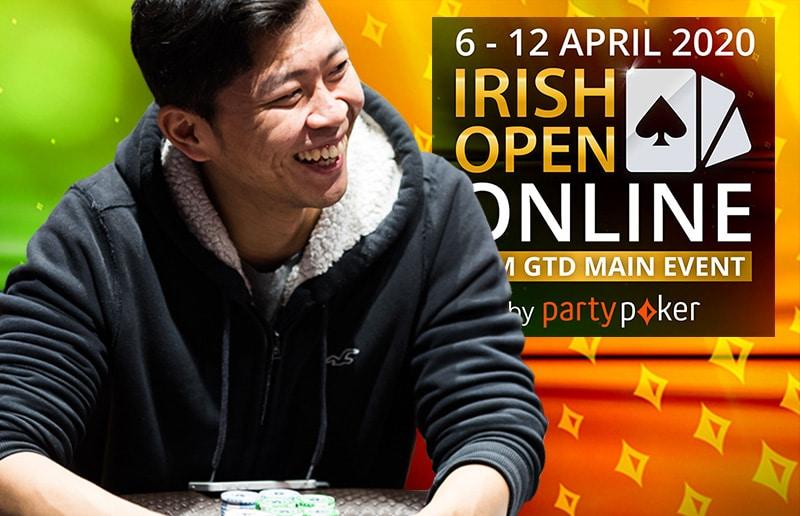 Сихао Чжанг лидирует в Главном Турнире Irish Open Online