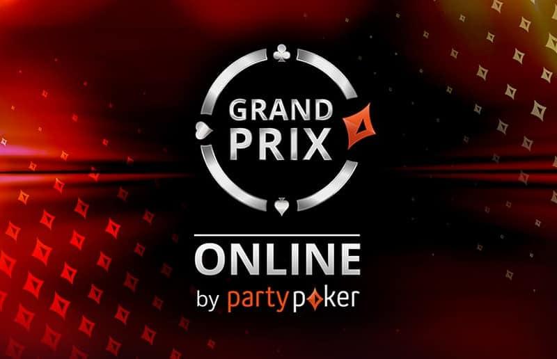 Гран-при онлайн 2020 на partypoker