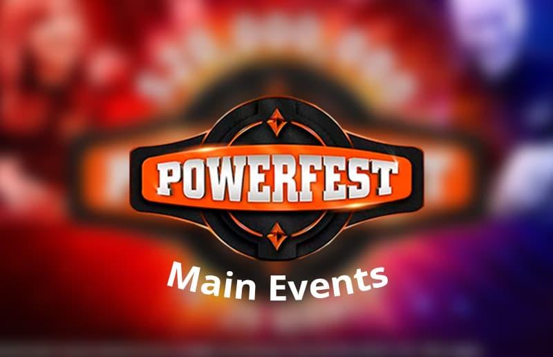 Результаты главных событий Powerfest