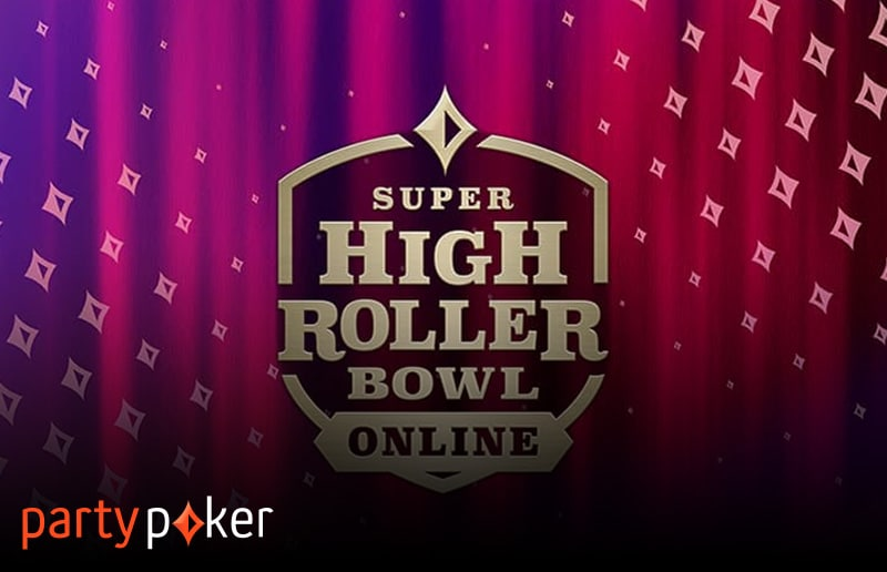 Super High Roller Bowl пройдет на partypoker в мае