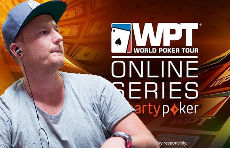 Кристиан Джеппссон лидирует за финальным столом онлайн-чемпионата WPT на partypoker