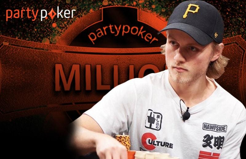 Мэтью Стэйплз выиграл 93 000 долларов на partypoker MILLION!