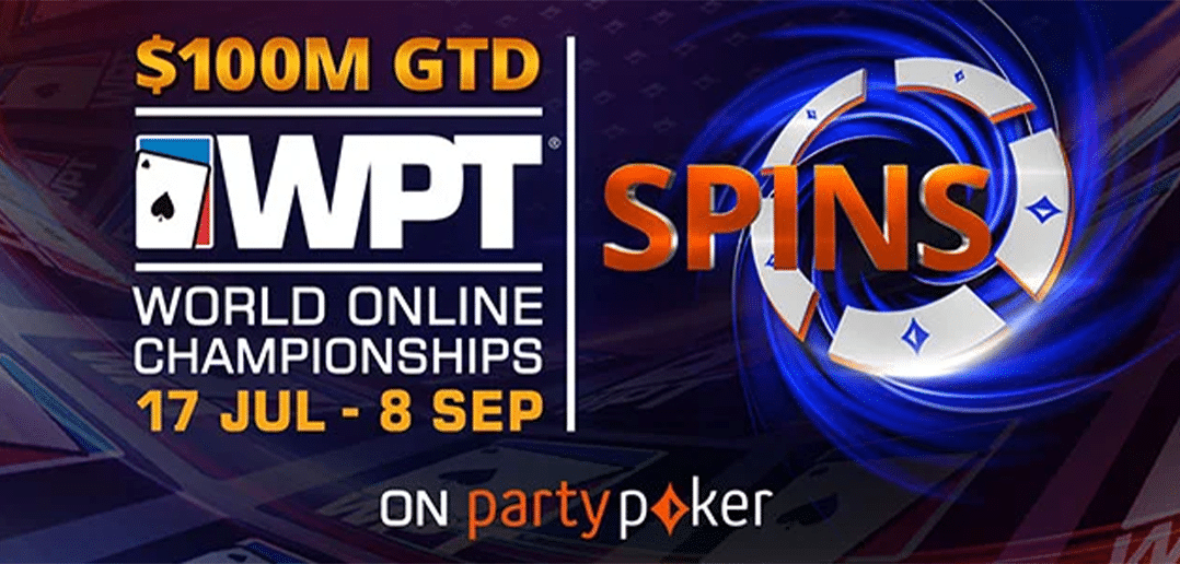Как получить билет на турнир WPT World Online Championships, играя в спинах на partypoker