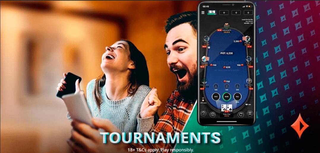 partypoker обновили многостоловые турниры для мобильных устройств