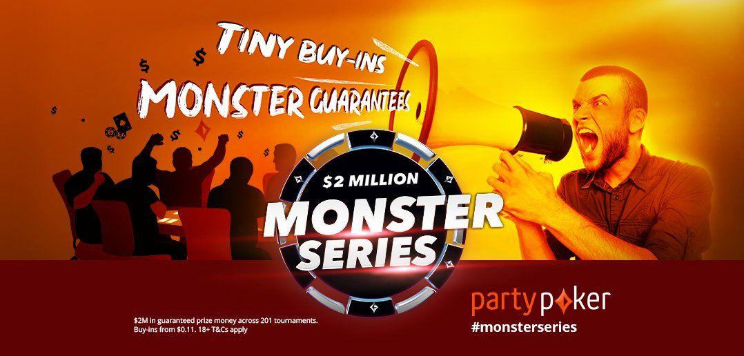 Monster Series начинается на partypoker 31 октября