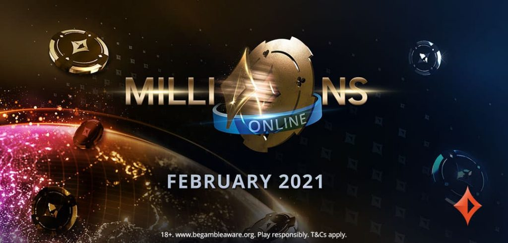 MILLIONS Online 2021 на partypoker