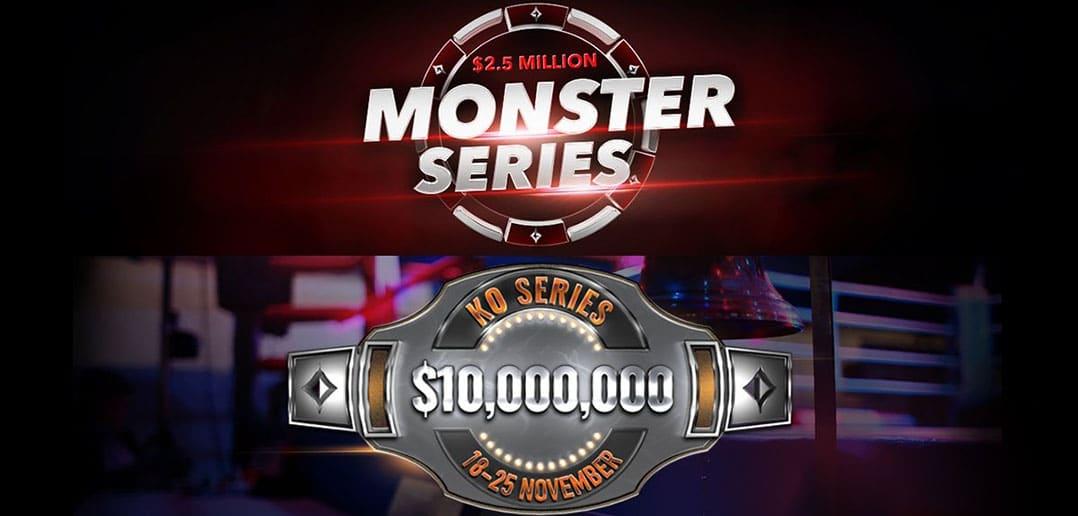 Кто возглавляет турнирную таблицу Monster Series