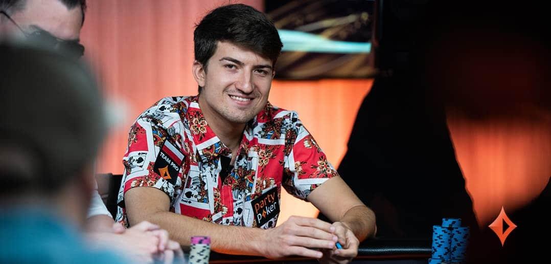 Член команды partypoker Дмитрий Урбанович вышел в лидеры по итогам дня 1В на Irish Poker Masters