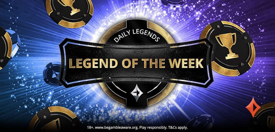 Победитель лидерборда Legend of the Week выиграл турнирные билеты на сумму $985