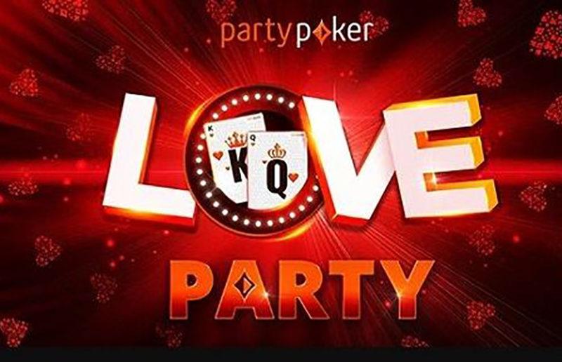 Love Party на partypoker: призы за задания и большие бонусы