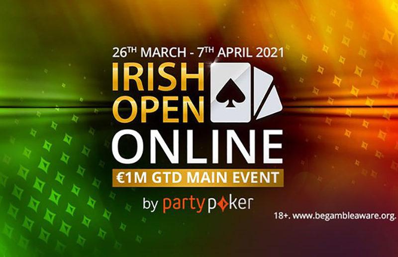 Irish Open Online начнется на partypoker 26 марта!