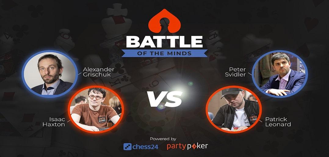 Битва разумов на partypoker: 4 легенды соревнуются в шахматах и в покере